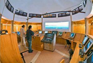 Simulatore di ponte di comando