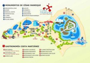 lago martianez mappa