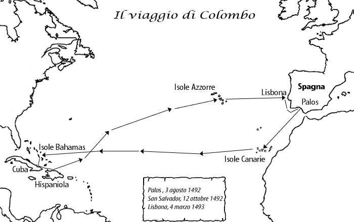 Cartina Spagna E Isole Canarie.Cristoforo Colombo E Le Canarie Isole Fortunate