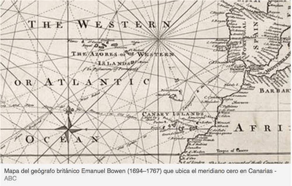 Cartina Geografica Canarie.Quando Greenwich Rubo Alle Canarie Il Meridiano Zero